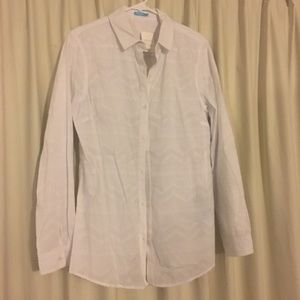 New With Tags J. McLaughlin White Button Down
